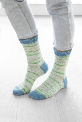 Gruendl Hot Socks Simila 101 серо-голубой